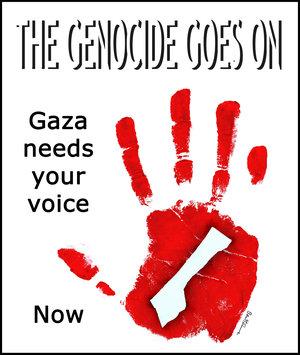 Gaza_strip_under_siege_by_benheine